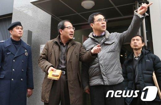 [사진]김종 제2차관 '숙박시설 현장 점검'