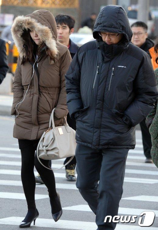 [사진]'다시 추워진 날씨'