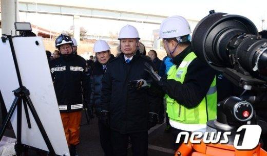 [사진]박인용 장관, 국가안전대진단 선포식 참석