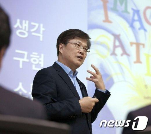 [사진]최양희 장관, 더 나은 미래를 향한 도전 당부