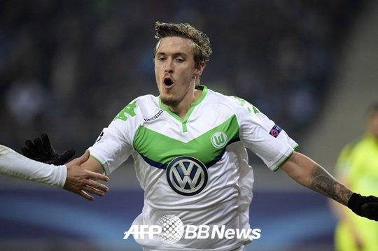 팀에게 세 번째 골을 안겨준 크루제. /AFPBBNews=뉴스1<br /> <br />