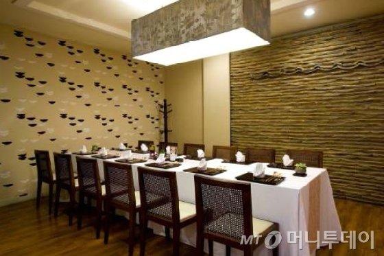 삼청각 한식당 내부 모습./사진=삼청각 홈페이지