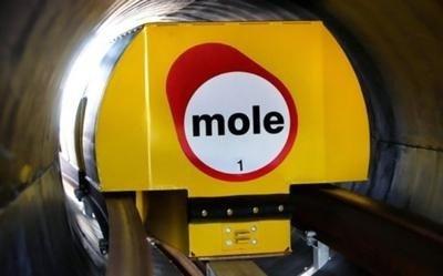 자기부상 방식의 무인 화물 차량/사진=Mole 솔루션