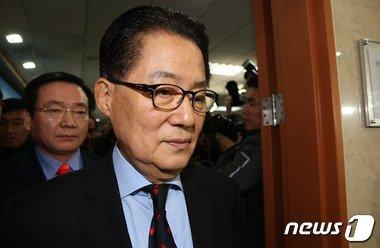 무소속 박지원 의원 2016.1.22/뉴스1 © News1 박지혜 기자