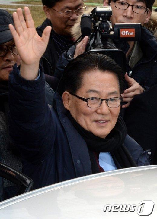 [사진]대법원 '박지원, 무죄 취지 파기환송'