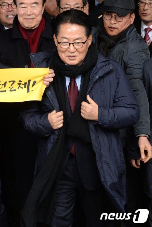 [사진]기사회생 박지원 '무죄 취지' 파기환송