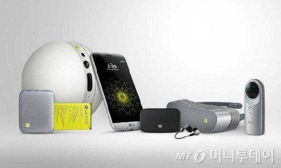LG전자 'G5'와 주변기기 'G5 프렌즈'