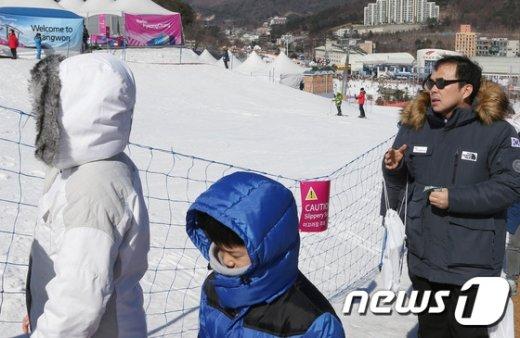 [사진]이동 동선 점검하는 김종 차관