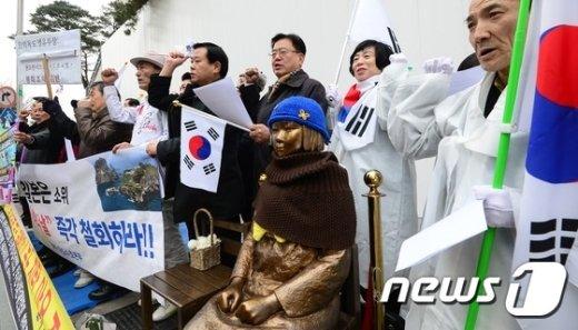 [사진]'일본의 독도침탈 야욕 저지를 위해'