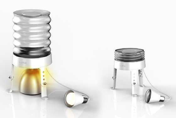 개발도상국 보급 전용 저가형 램프 '루미르K'/사진=루미르 제공