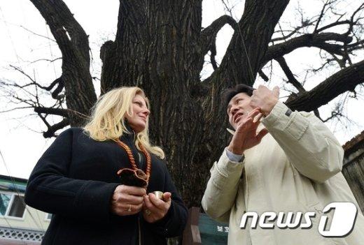 [사진]3·1운동 해외에 알린 테일러 손녀 방한