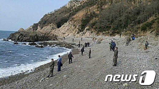 [사진]추자도 해안가 수색작업