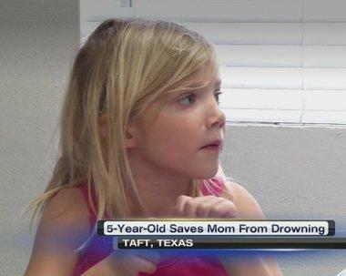 텍사스 소녀 앨리슨 앤더월드 <현지 방송 화면 캡쳐> © News1
