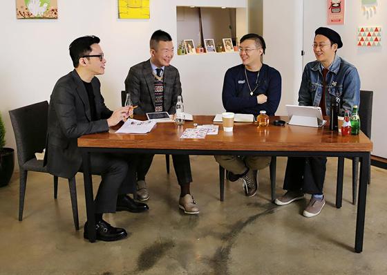 '복싴남녀' 4명의 진행자. (왼쪽부터)정성호, 장윤수, 이승준, 황의건/사진='복싴남녀' 페이스북