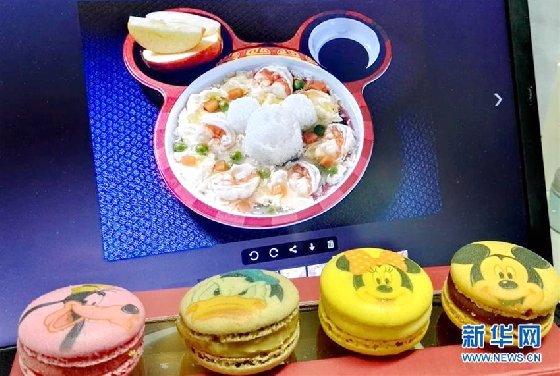 미키마우스와 중국요리의 만남, 상하이 디즈니랜드 메뉴