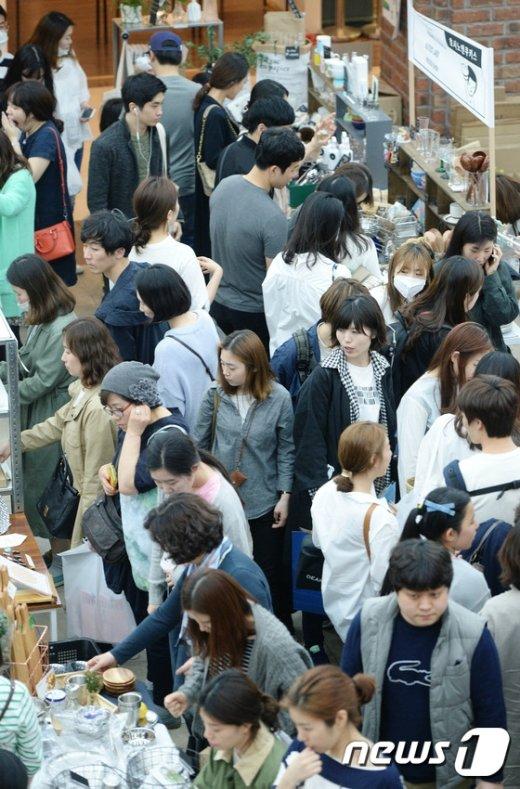 [사진]띵굴시장 봄마켓