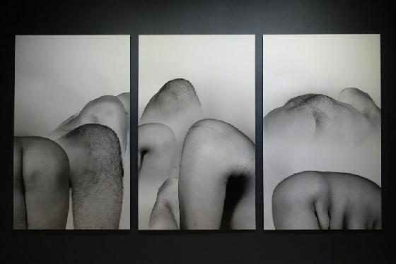 리우 웨이, 풍경처럼(Looks Like a Landscape), 2004, Archival inkjet print 6 panels, 200*120cm each. /사진=김유진 기자