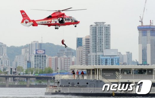 [사진]'소방헬기로 신속한 구조'