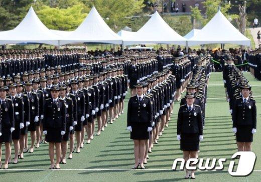 [사진]중앙경찰학교 신임경찰 제287기 졸업식
