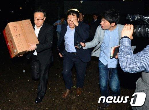 [사진]최모 변호사 법률사무소 압수수색 마친 검찰