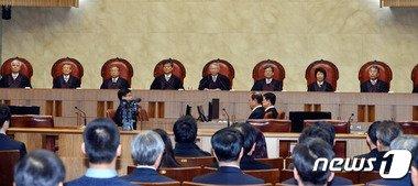 대법원 대법정 전경. 2016.2.19/뉴스1 © News1