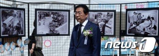 [사진]5·18민주화운동 제36주년기념식 찾은 박원순
