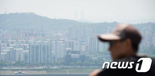 [사진]서울 미세먼지 '나쁨'