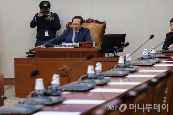 홍영표 환경노동위원회 위원장. 사진=뉴스1.