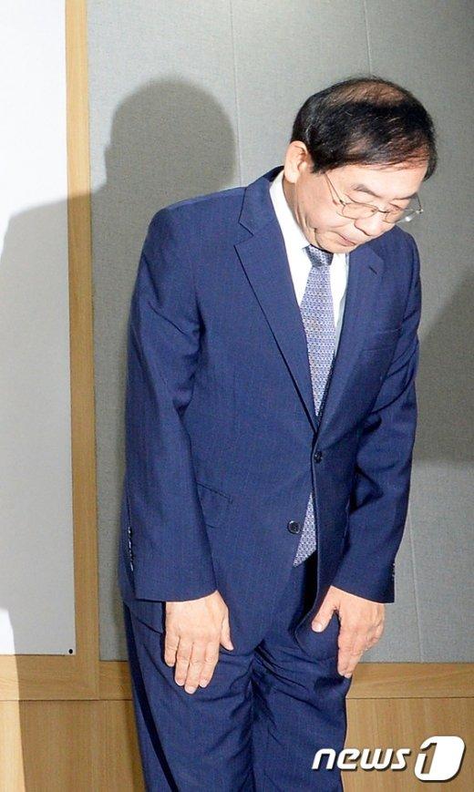 [사진]인사하는 박원순 시장