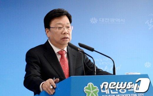 권선택 대전시장. /뉴스1 © News1 신성룡 기자