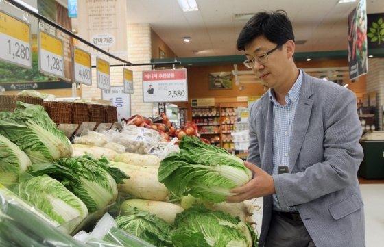 곽대환 이마트 신선식품담당 채소 바이어(부장)/사진제공=이마트