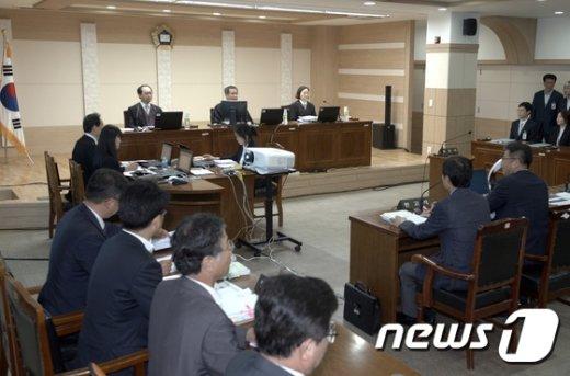 [사진]국립소록도병원서 열리는 특별 법정