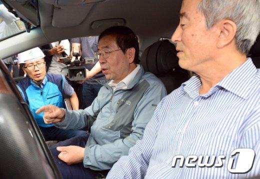 [사진]택시가 신고하는 포트홀 신고시스템