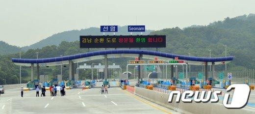 [사진]7월 3일 개통예정인 강남순환로