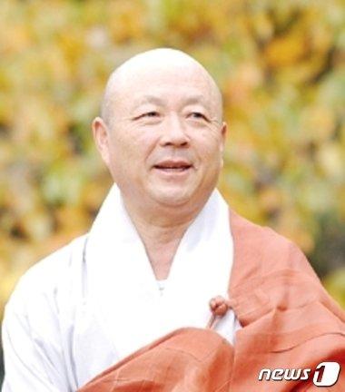 제39대 동국대학교 이사장으로 선출된 자광스님(동국대 제공).© News1