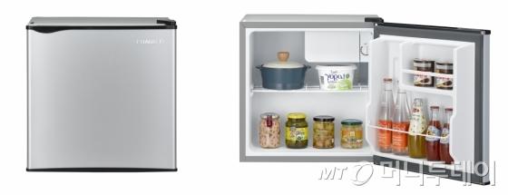 대유위니아 2016년형 프라우드S 냉장고 43L 실버/사진제공=대유위니아
