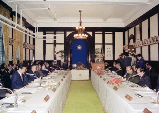 우형근 사무관(60) 1987년 촬영한 서울 서소문 대법원청사 법원장회의.(대법원 제공) © News1