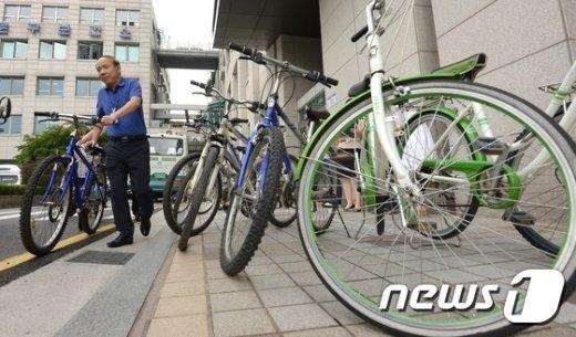 [사진]소외계층을 위한 '착한 자전거'