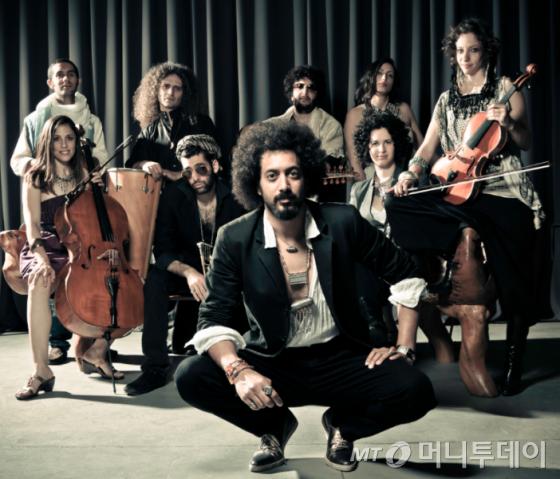 아랍 전통 음악에 락앤롤, 재즈, 블루스를 결합한 음악그룹 '예멘 블루스' /사진제공=국립아시아문화전당