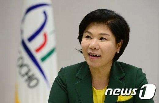 조은희 서초구청장. © News1