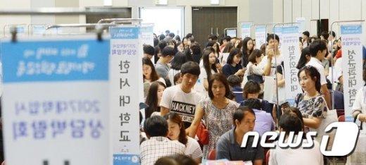 [사진]대입 수시상담 박람회의 인파