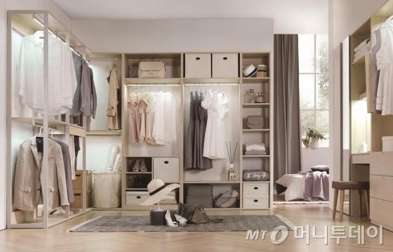 현대리바트, 옷장·드레스룸 결합가구 '그리드' 출시