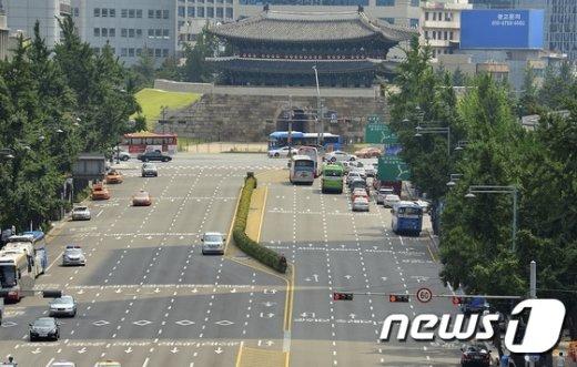 [사진]한산한 서울 도심