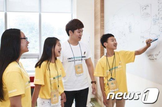 [사진]삼성전자, 주니어 소프트웨워 창작대회 개최