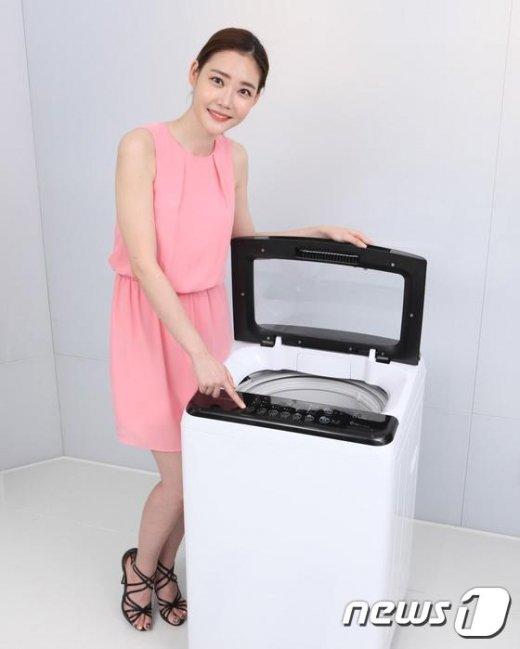 [사진]동부대우전자, 1인가구 겨냥 소형 세탁기 출시