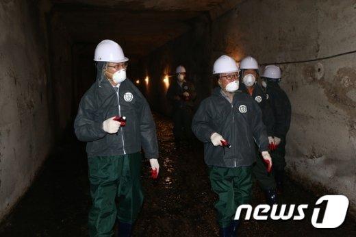 하수도 악취 점검 (제공 종로구)© News1