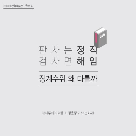 [카드뉴스] 판사는 '정직', 검사면 '해임'… 판‧검사 징계수위 왜 다를까