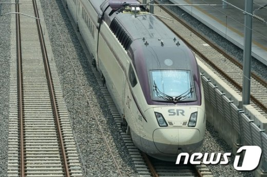 [사진]12월 개통 앞둔 SRT, 시범운행
