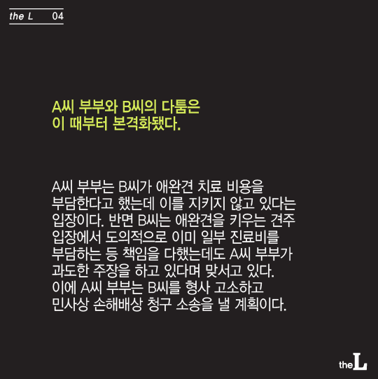 [카드뉴스] 애견카페서 다친 애완견 치료비 800만원, 카페 주인 책임?