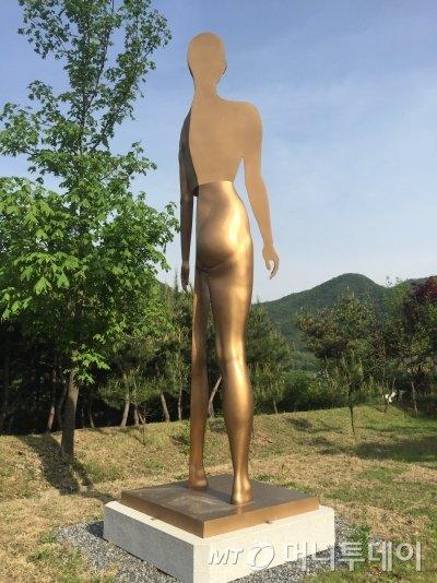 김영원의 창원조각비엔날레 출품작. /사진제공=창원조각비엔날레 추진단